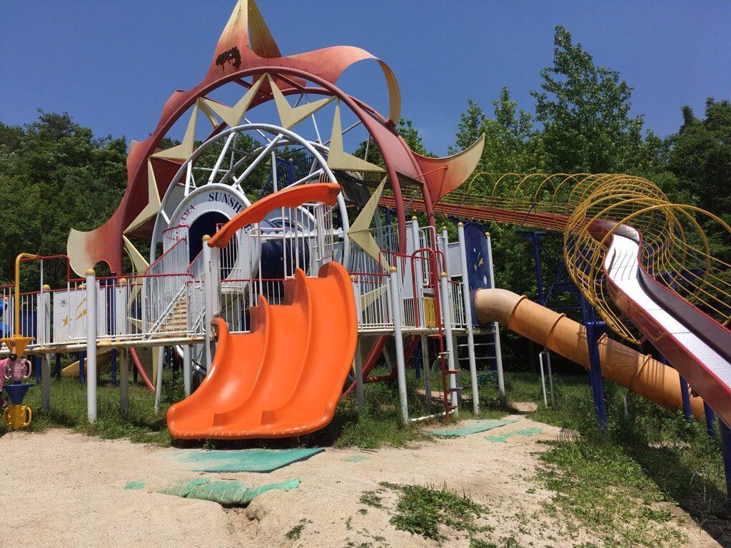 焼山公園の遊具の詳細