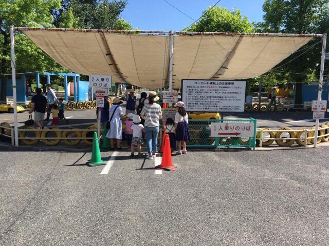 広島でゴーカートを楽しめるので大人気