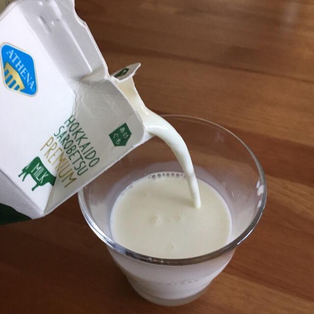 コストコの牛乳の見た目と味