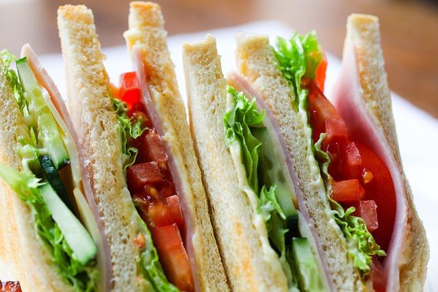 つわりでも食べられたサンドイッチ