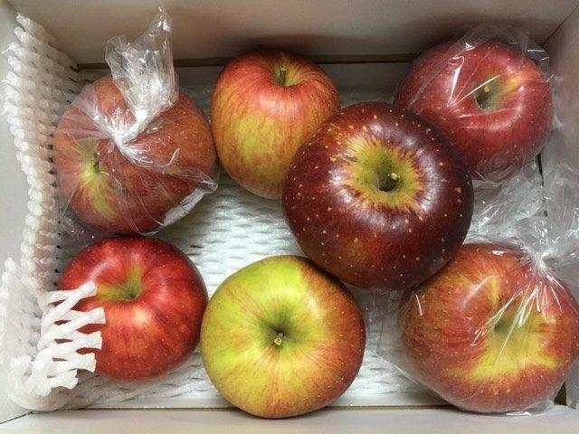 我が家で購入したりんご