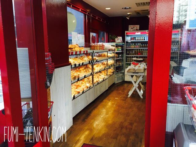 「パンの大瀬戸」店内入口