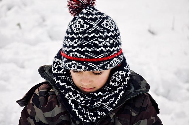 子供が雪遊びをするときの格好