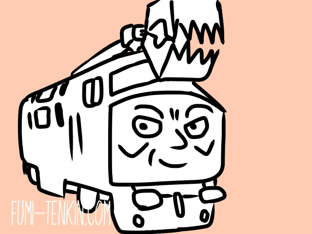 きかんしゃトーマスのディーゼル機関車ディーゼル10