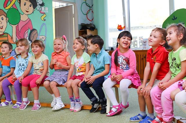 幼稚園入園後の子供