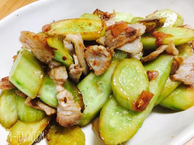 バズレシピでダイエット きゅうりの炒め物